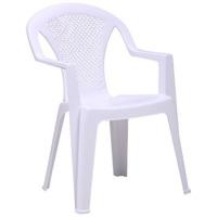 Стул Ischia пластик белый 01