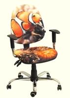 кресло Бридж хром Дизайн Рыбка