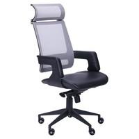 кресло Axon каркас черный, сетка серая