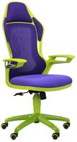 кресло Racer сетка фиолетовая