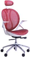 кресло Lotus сетка красная