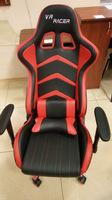 Геймерское Кресло VR Racer BN-W0105A черный/красный