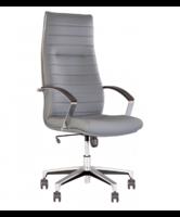 Кресло кожаное Iris Steel