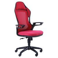 кресло Racer сетка красная