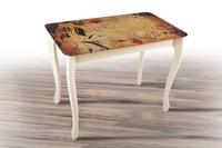 стол Смарт со стеклом